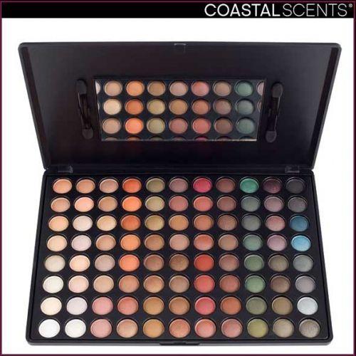 コースタルセンツのブラウン/ベージュ系 大特価化粧品パレット「88色 プロ使用 アイシャドーミラージパレット 」