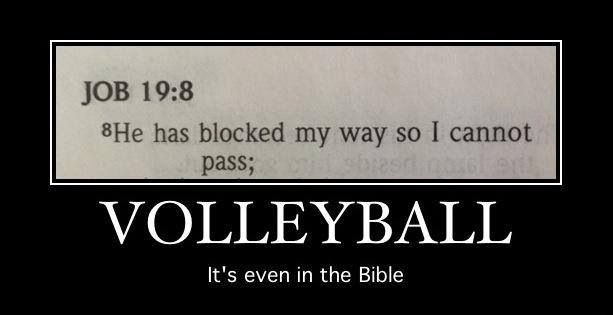 It's even biblical.