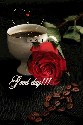Good Day coffee animated hugs hello friend comment good morning good day greeting beautiful day