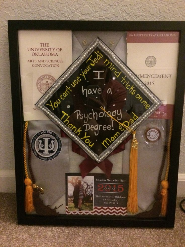College Graduation Shadow box!