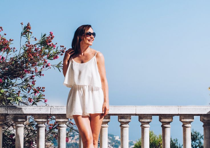 """Going somewhere hot this summer? Then you should pack a good white romper. The one I am wearing is by """"THE FIFTH LABEL"""". Read this to find out more"""