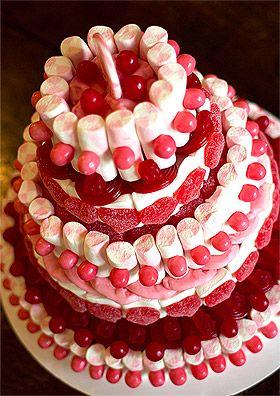 Pièce montée Wedding Cake, Wedding-cakes, gâteaux de bonbons, grâce à cette tour en polystyrène, tout est possible.