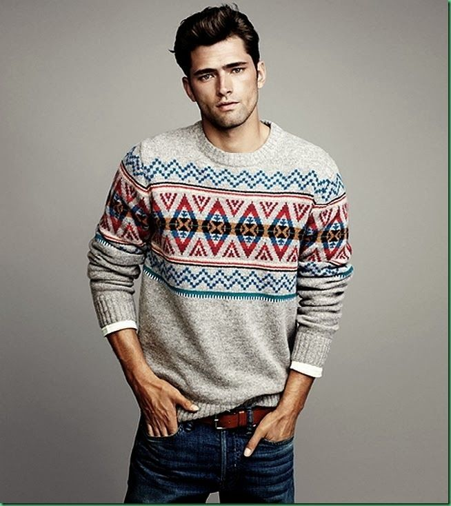 Sean O'Pry for H&M: 'Winter Knits' | Men's Style | Pinterest | Mens fashion, Fashion and Sweaters