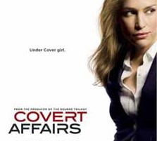Covert Affairs Pushes Third Season to the Limit & Chris Gorham Directs Episode #2 of Last 6 Episodes.