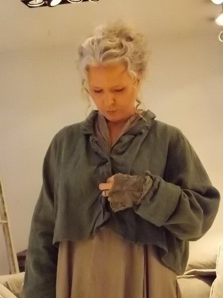 Linen Short Jacket