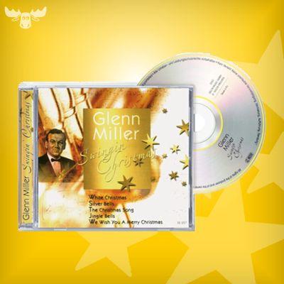 """Glenn Miller Swingin' Christmas. Weihnachtlicher Big-Band-Sound mit dem Glenn-Miller-Orchester mit vielen Klassikern der amerikanischen Weihnachtsmusik: """"White Christmas"""", """"Jingle Bells"""", """"We wish you a Merry Christmas"""" u.v.m."""