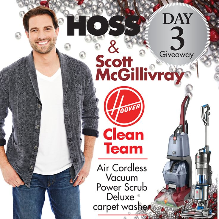"""Hoover's """"Clean Team"""" package, which includes one Hoover Air Cordless vacuum and one Power Scrub Deluxe carpet washer.  http://bit.ly/1OOfYrN"""