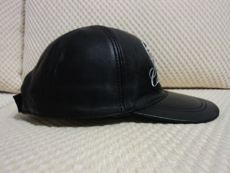 Cadillac Leather Hat / Cap