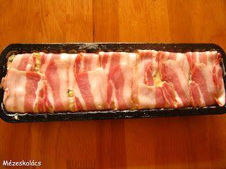 Mézeskalács konyha: Baconos csirkemell