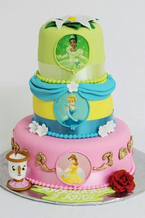 17 mejores ideas sobre Tartas De Princesa Disney en Pinterest ...