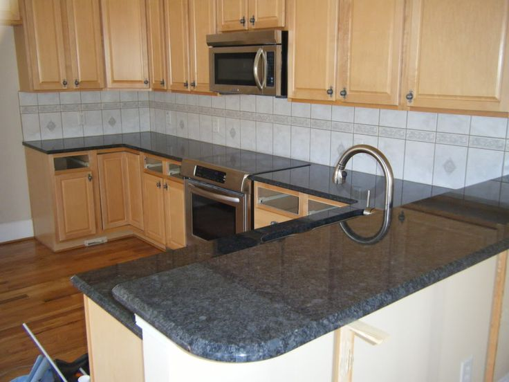 Kitchen Gray Granite Countertops : Steel grey granite countertops http