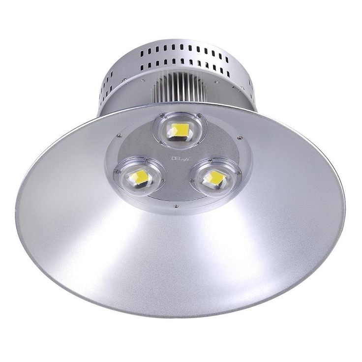 DELight™ 19in 150W LED High Bay Light Industrial Commercial Lighting