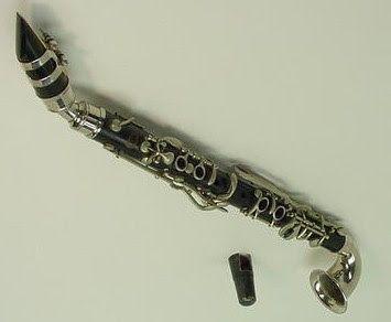 chtiot musée des Clariboles et Cie: Clarinettes sopranos courbes