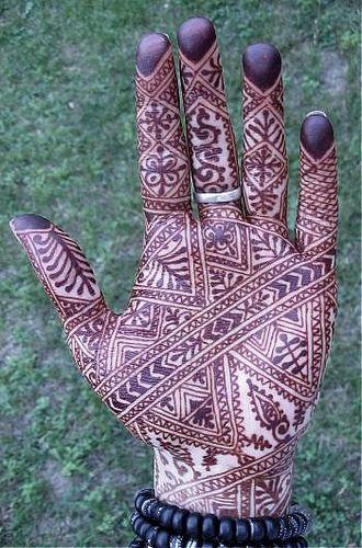 intricate moroccan design