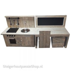 Steigerhouten Kinderspeel Set Kiddy 2