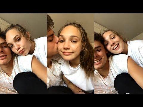 Maddie Ziegler & Jack Kelly | Instagram Live Stream | 5 July 2017 - YouTube