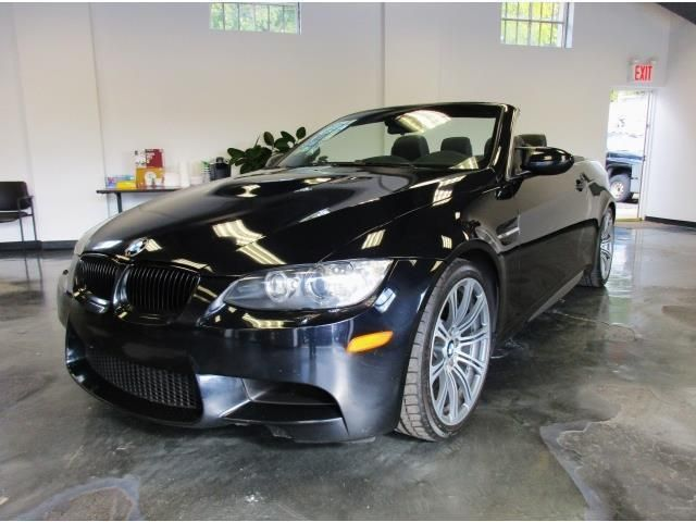 Awesome Great 2008 BMW M3 Base Convertible 2-Door 2008 BMW M3 Convertible 6 Speed Manual 1 Owner Black On Black Stunning Car 2017/2018