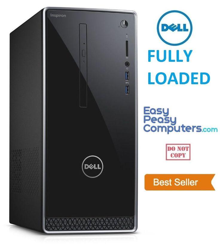 NEW FAST DELL Desktop Computer Windows 10 WIFI 6GB 1TB DVD+RW (FULLY LOADED) #Dell