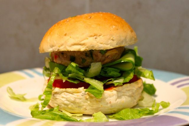 Thai Chicken Burgers by Michelle Bridges