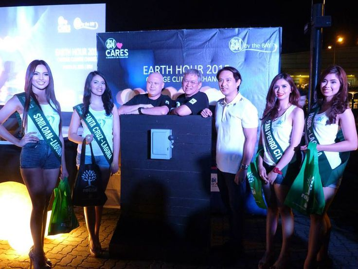 Earth Hour 2015   The Grand Switch-Off at the SM Mall of Asia