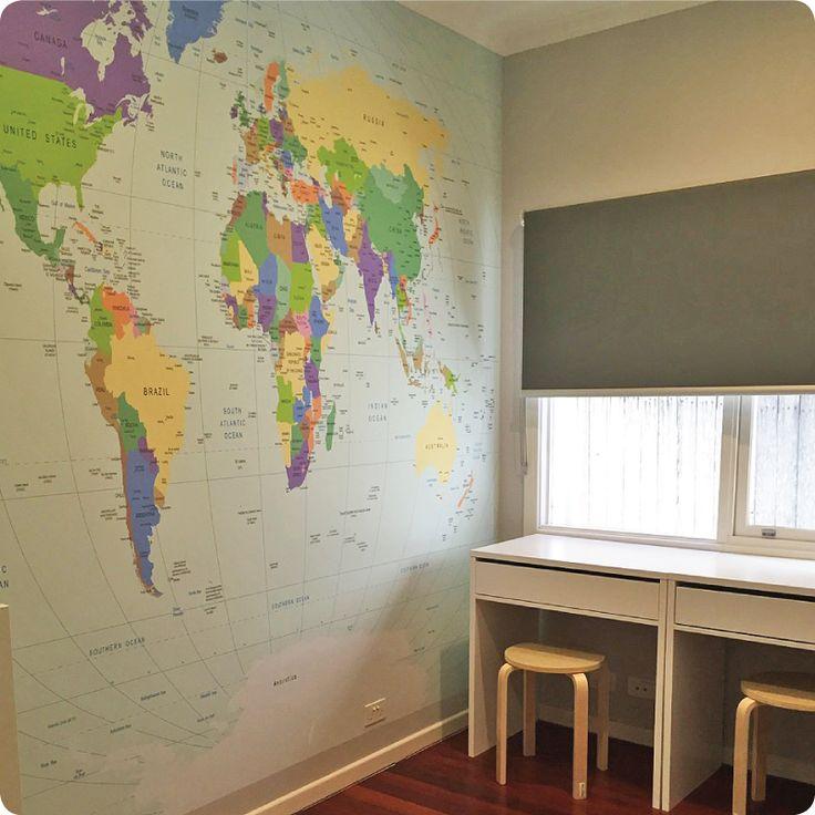 Melisa McKirdy_ World Map Mural_Oct. 2015 ROTM Entry