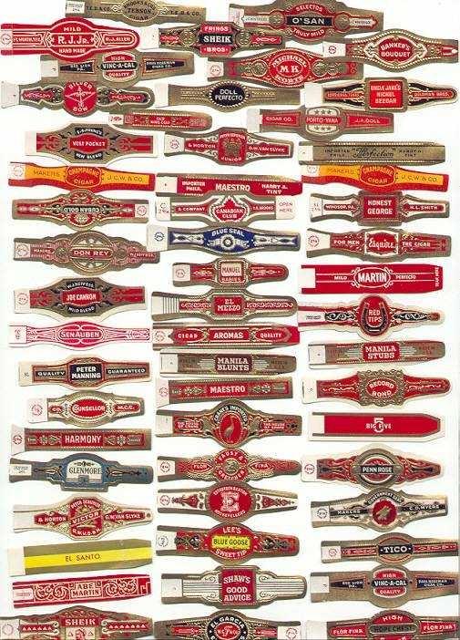 bands: Cigars Boxes