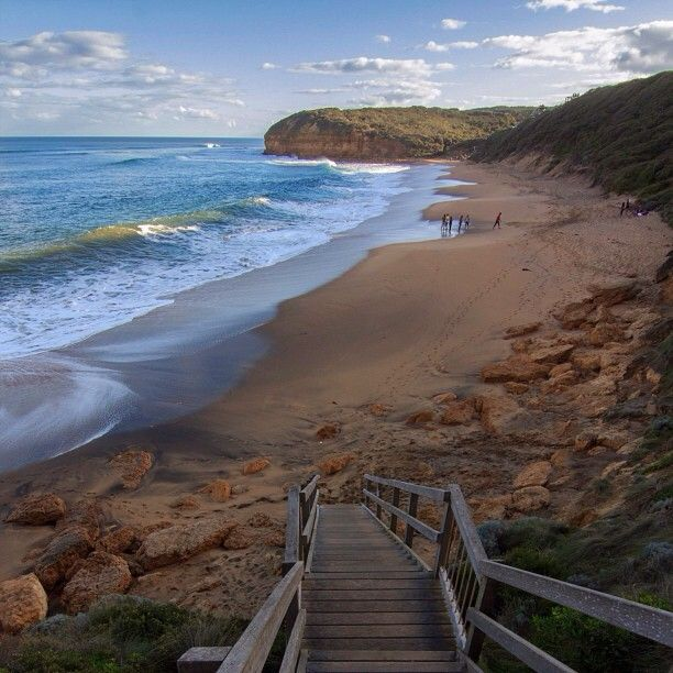 Beautiful day on Bells Beach on the Great Ocean Road in Victoria, Australia. By @Jeanie Irving [Inspired Wish]! (instagram)