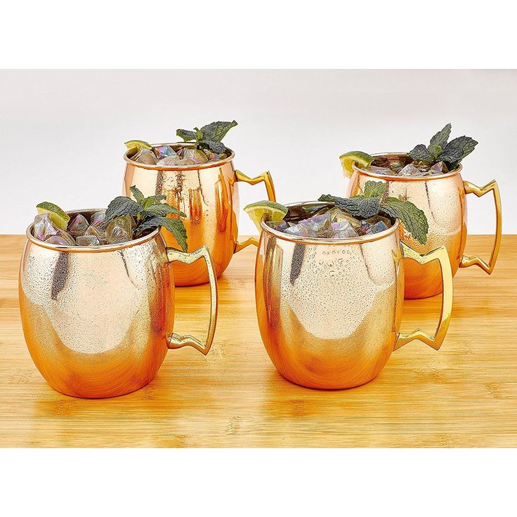 How to Tell If Your Copper Moscow Mule Mugs Are Poisonous - TownandCountrymag.com