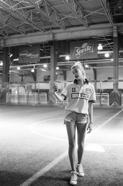 Hailey Baldwin by Moises Arias 2014