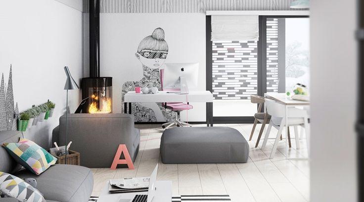 Osobowość w każdym detalu, wystrój wnętrz, wnętrza, urządzanie mieszkania, dom…
