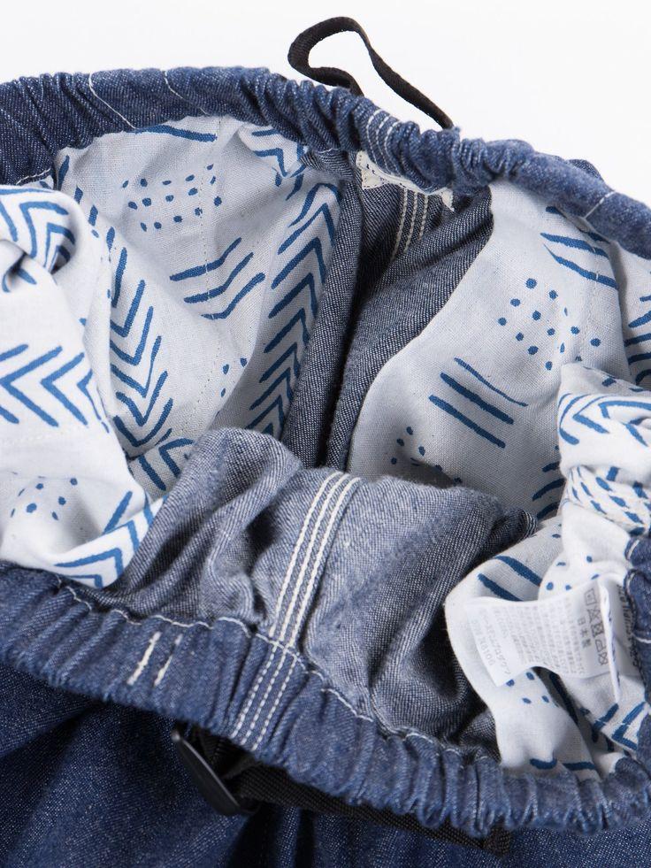 Indigo One Wash Denim Climbing Pant - Image 3