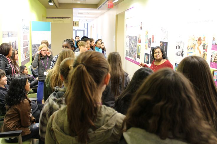 in November CAMH was host to a group of 30 grade 9 students as part of the national Take Our Kids to Work Day program