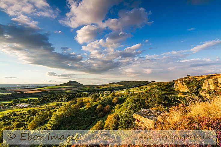 Roseberry Topping in the afternoon sun - North York Moors & Coast