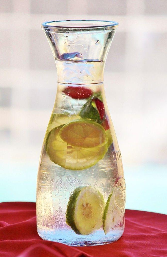 woda z cytryną - cudowne właściwości - pijcie codziennie rano