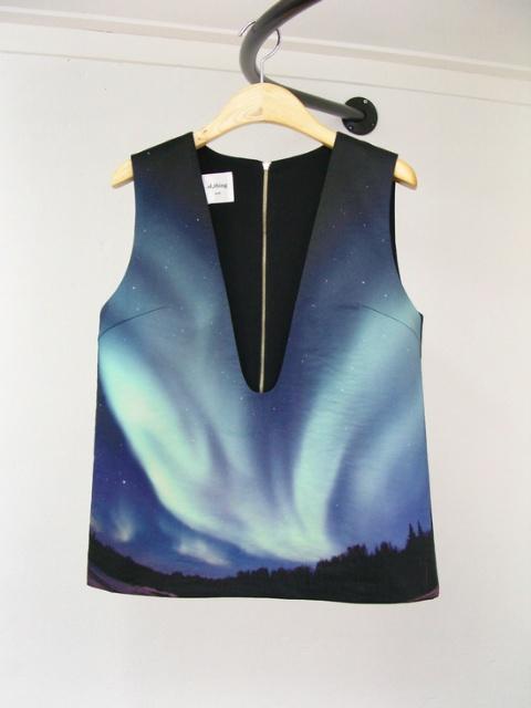 al,thing - The arctic aurora vest
