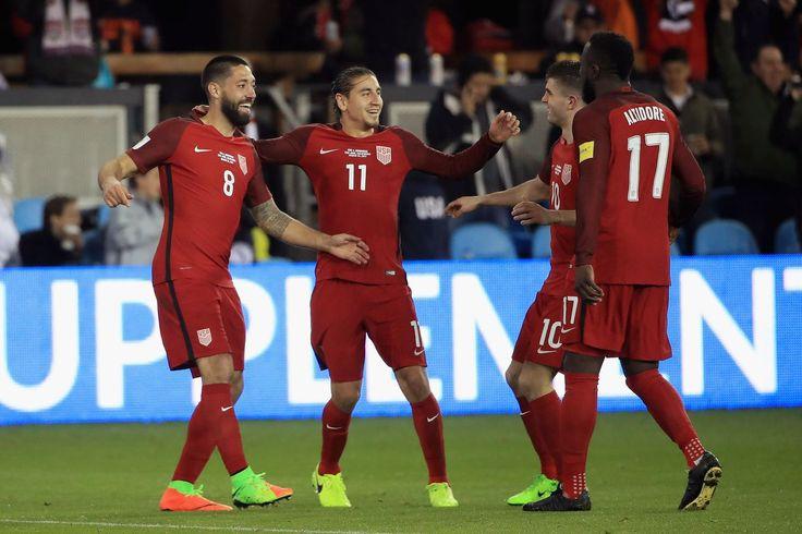 Estados UNIDOS vs Costa Rica: resultado Final de 2-0, Jozy Altidore y Clint Dempsey enviar los Estadounidenses a la final de la Copa Oro
