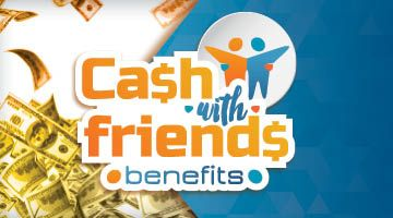 Share this with your friends and earn B Connected Social Points to enter valuable prize giveaways. Thursdays in August  5:00pm – 8:00pm    Every 20 minutes, you AND your best friend could each win $222 CASH!    Simply swipe your B Connected card at any promotions kiosk for a free entry. Then make sure your card is active in your favorite slot machine for a chance to win. Earn ONE BONUS entry for every 100 points you earn.    At the 8:00pm drawing, you and your frien