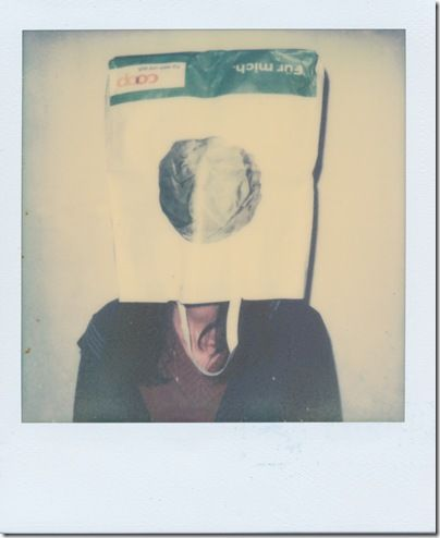 Housewife in the Bag    Kamera: Polaroid One600   Film: Color Shade - Test Film 2010 by The Impossible Project