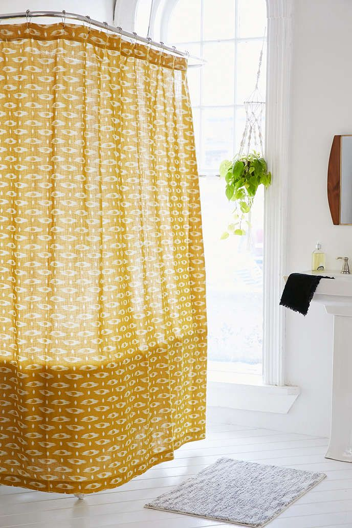 4040 locust divia ikat shower curtain awesome stuff urban outfitters and awesome. Black Bedroom Furniture Sets. Home Design Ideas