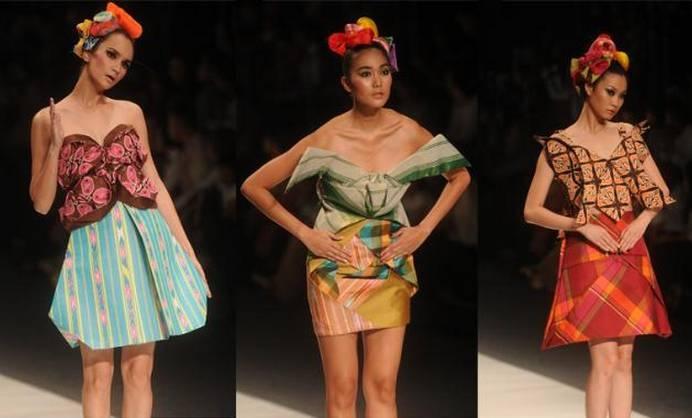 Paper Garden Design Lenny Agustin, Jakarta FW