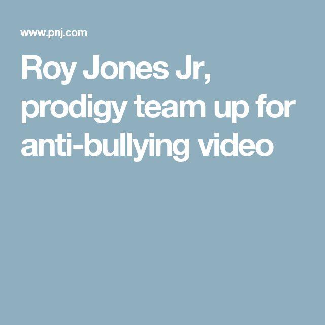 Roy Jones Jr, prodigy team up for anti-bullying video