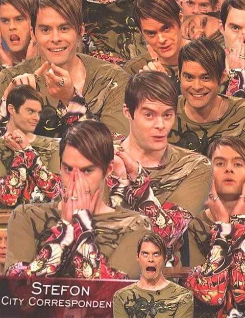 Stefon.... This makes me sad I will miss you........ :(. SNL Saturday Night Live