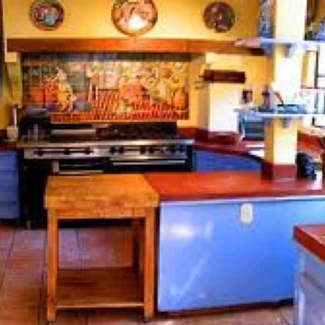 182 Best Images About Mexican Kitchens Home Decor On