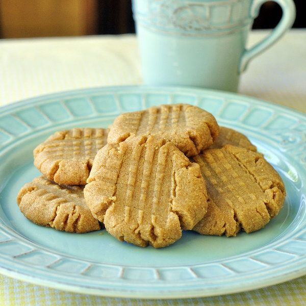 3 Ingredient Gluten Free Peanut Butter Cookies, with a chocolate ganache filling recipe for sandwich cookies