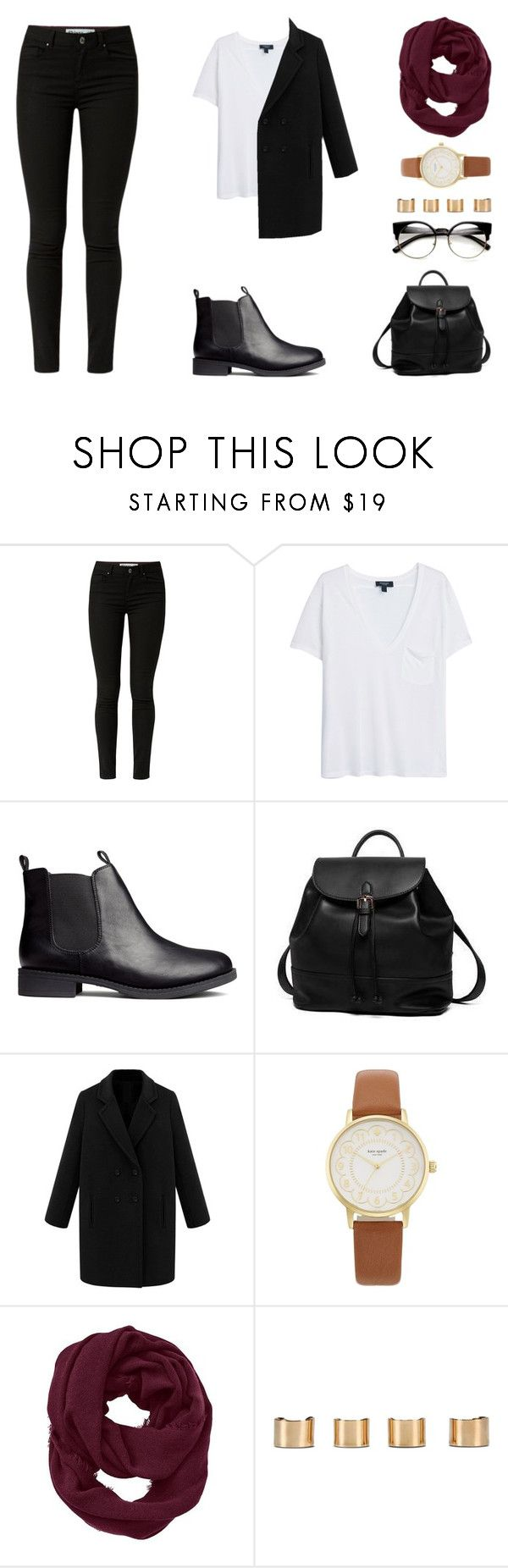 """""""Nothing"""" by forestfauna on Polyvore featuring MANGO, H&M, Princess Carousel, Kate Spade, Athleta and Maison Margiela"""