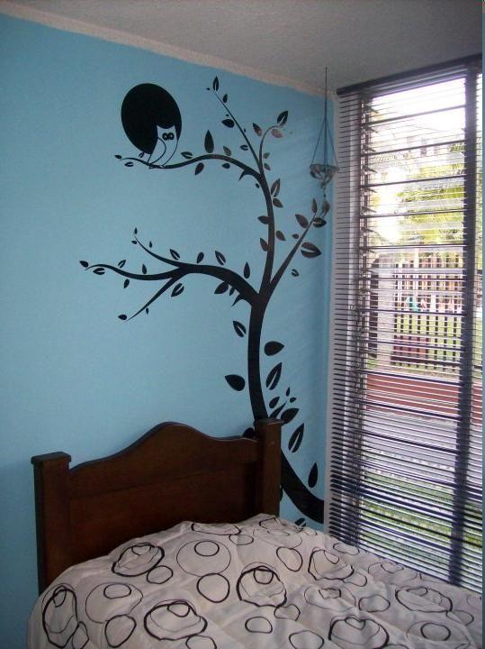 Árbol vinilo decorativo