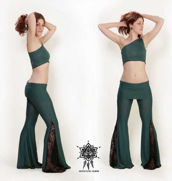 Hey, I found this really awesome Etsy listing at https://www.etsy.com/listing/227598861/lace-flow-pants-yoga-pants-festival