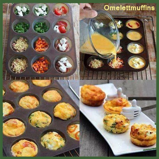 Omelettmuffins | Anmaja