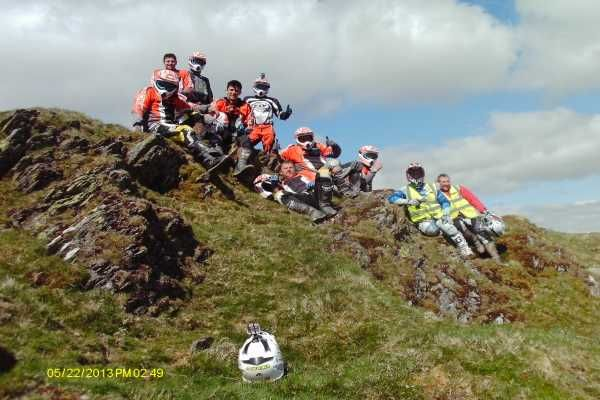 Ady Smith KTM off-road Experience