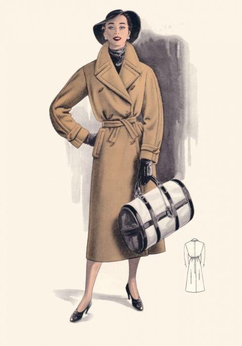 Пальто и костюмы 1950-55х годов (Англия). Обсуждение на LiveInternet - Российский Сервис Онлайн-Дневников